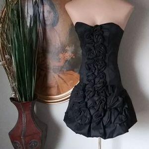 NWOT Jessica McClintock Strapless Bubble Dress 2P